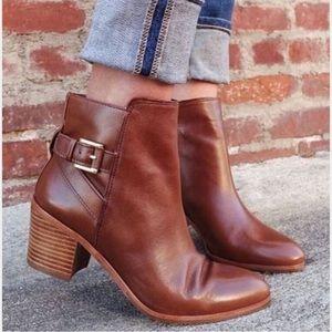 Louise et Cie brown booties